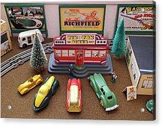 Toytown - Tik Tok Diner Acrylic Print