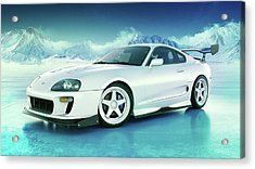 Toyota Supra Mkiv Acrylic Print