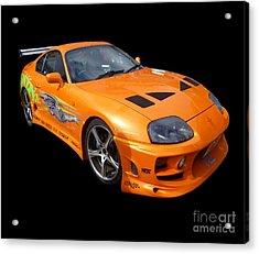 Toyota Supra Acrylic Print
