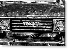 Toyota Truck Acrylic Print by Lyle  Huisken