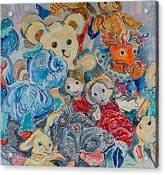 Toys Acrylic Print by Vitali Komarov