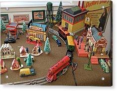 Toytown - Train Set Overview Acrylic Print