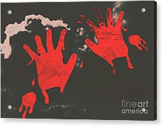 Trace Of A Serial Killer Acrylic Print