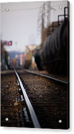 Track Life Acrylic Print