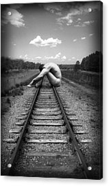 Tracks Acrylic Print by Chance Manart
