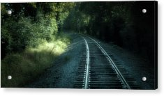 Tracks Through Time Acrylic Print
