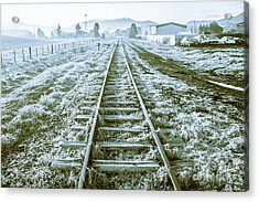 Tracks To Travel Tasmania Acrylic Print
