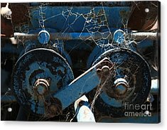 Tractor Engine IIi Acrylic Print by Stephen Mitchell