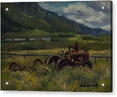 Tractor From Swan Valley Acrylic Print