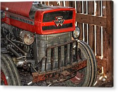 Tractor Grill  Acrylic Print