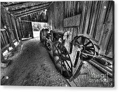 Tractor In Port Oneida Acrylic Print