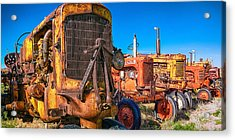 Tractor Supply Acrylic Print