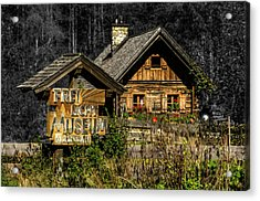 Traditional Austrian Wooden House Acrylic Print