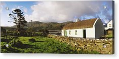 Traditional Cottage, Near Lough Rus Acrylic Print