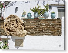Traditional Decoration In A House  Acrylic Print