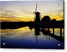 Traditional Dutch Acrylic Print by Chad Dutson