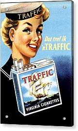 Traffic Cigarette Acrylic Print