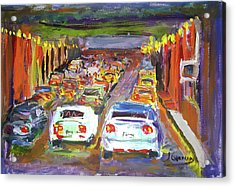 Traffic Jam Acrylic Print by Janet Garcia