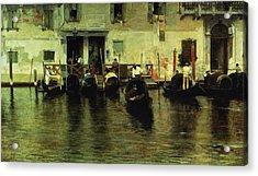 Traghetto Della Maddalena Acrylic Print