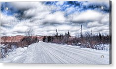 Trail One In Old Forge 2 Acrylic Print