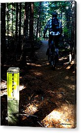 Trail Respect Acrylic Print