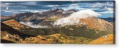 Trail Ridge Overlook Acrylic Print by T-S Fine Art Landscape Photography