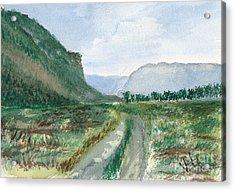 Trail To Canada Acrylic Print