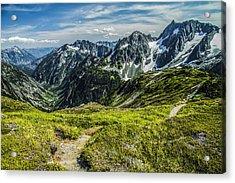 Trail To Stehekin Acrylic Print