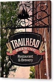 Trailhead Brewing Company Acrylic Print
