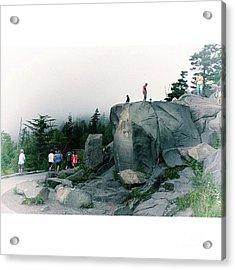 Trailhead Clingman's Dome Great Acrylic Print
