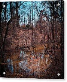 Trailing Creek Acrylic Print
