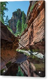 Trail's End Acrylic Print by Joseph Smith
