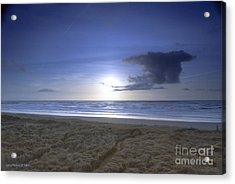Trails End Acrylic Print by Larry Keahey