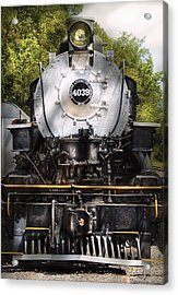 Train - Engine - 4039 American Locomotive Company  Acrylic Print by Mike Savad