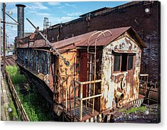Train 6 In Color Acrylic Print