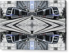 Acrylic Print featuring the photograph Train by Brian Jones