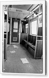 Train Car  Acrylic Print