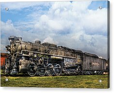 Train - Engine - Nickel Plate Road Acrylic Print by Mike Savad