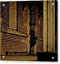 Train Left The Station Acrylic Print by Odd Jeppesen