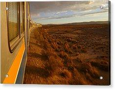 Train Ride Oruro To Tupiza 10 Acrylic Print by Skip Hunt