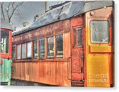 Train Series 5 Acrylic Print by David Bearden
