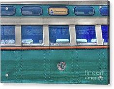 Train Series 8 Acrylic Print by David Bearden