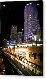 Train Station Acrylic Print