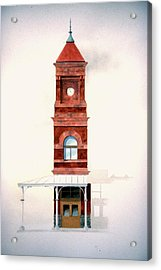 Train Station Tower Acrylic Print