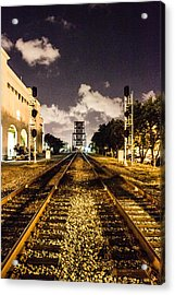 Train Tracks Acrylic Print