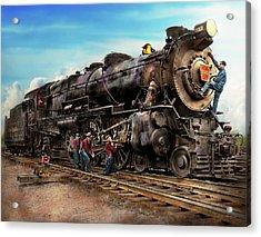 Train - Working On The Railroad 1930 Acrylic Print