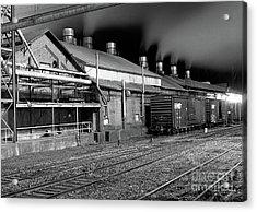 Train Yard Acrylic Print