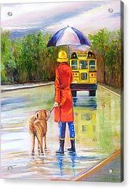Training Lessons Acrylic Print by Yvonne Dagger