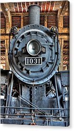 Trains - Steam Locomotive 1031 Acrylic Print by Dan Carmichael