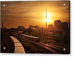 Trains - Berlin Acrylic Print